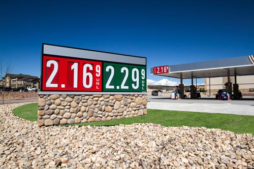 Should The Color Of Gas Price Changers Be Standardized Voice Your Opinion